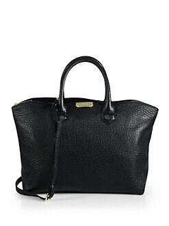 Burberry - Medium Dewsbury Leather Tote