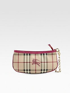 Burberry - Check Wristlet