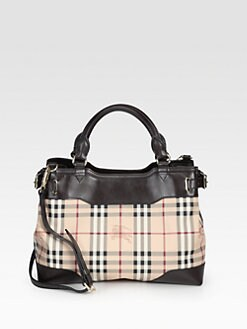 Burberry - Mixed-Media Tote