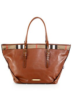 Burberry - Salisbury Medium Mixed-Media Tote