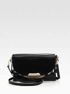 Burberry - Abbott Mixed-Media Crossbody