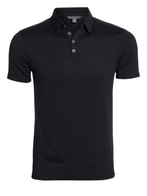 Silk & Cotton Polo