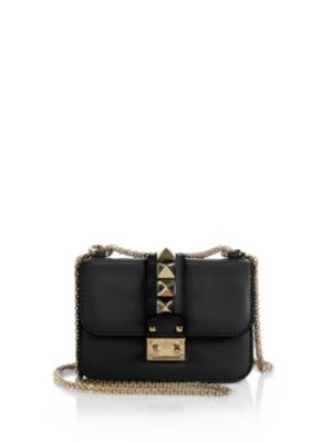 Rockstud Lock Mini Shoulder Bag