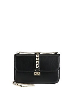 Valentino - Rocklock Medium Shoulder Bag