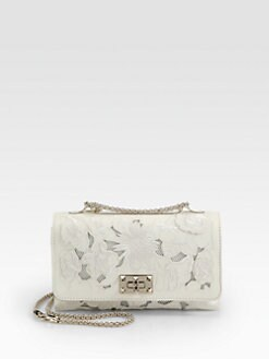 Valentino - Girello Medium Embroidered Shoulder Bag