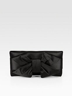 Valentino - Satin Bow Clutch