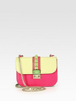 Valentino - Colorblock Flap Shoulder Bag