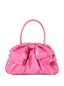 Valentino - Patent Leather Bow Bag