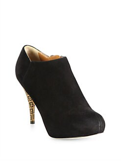 Fendi - FF Superstar Suede Ankle Boots