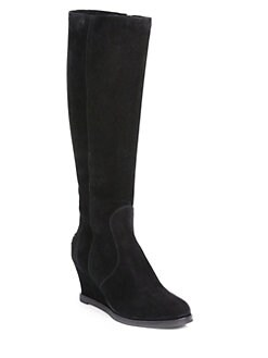 Fendi - Cathy Suede Knee-High Boots