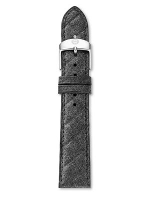 Urban Quilted Leather Watch Strap/18MM