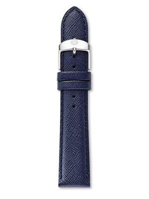 Saffiano Leather Watch Strap/16MM