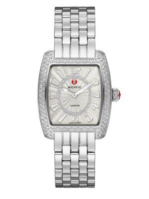 Urban Mini 16 Diamond & Stainless Steel Bracelet Watch
