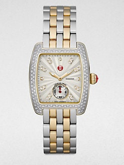 Michele Watches - Two-Tone Stainless Steel Watch