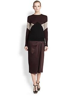Jason Wu - Intarsia-Knit Merino Wool Sweater