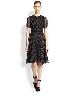 Jason Wu - Silk Paisley-Print Cascade Dress