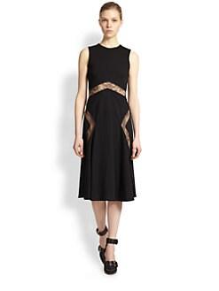 Jason Wu - Lace-Insert Dress
