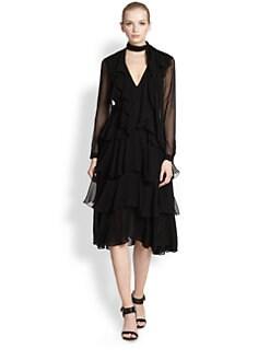 Jason Wu - Silk Chiffon Tiered Dress