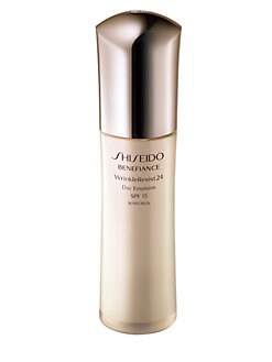Shiseido - Benefiance WrinkleResist24 Day Emulsion SPF 15/2.5 oz.