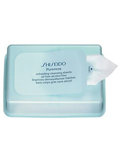 Shiseido - Pureness Refreshing Cleansing Sheets Oil-Free Alcohol-Free/30 Sheets