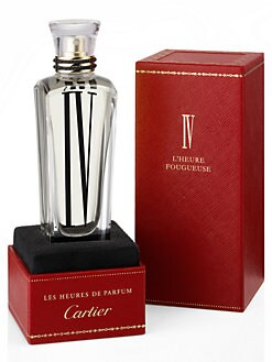 Cartier - IV L'Heure Fougueuse -- The Ardent Hour/2.5 oz.