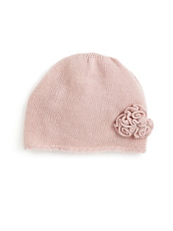Portolano - Toddler Girl's Flower Cashmere Hat