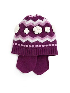 Portolano - Toddler Girl's Nuvola Earflap Hat
