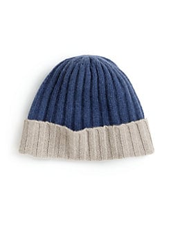 Portolano - Little Boy's Two-Tone Hat