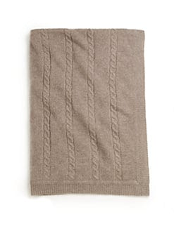 Portolano - Infant's Cable-Knit Cashmere Blanket