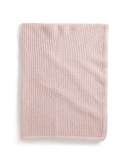 Portolano - Infant's Lace-Knit Blanket
