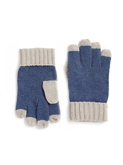 Portolano - Little Boy's Two-Tone Gloves