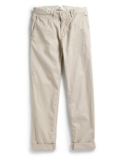 Scotch Shrunk - Boy's Cotton Khaki Pants