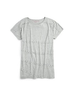 Design History - Girl's Rhinestone Tee