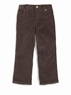 Vineyard Vines - Toddler's & Little Girl's Corduroy Pants/Matte Charcoal