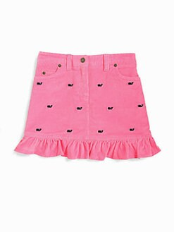 Vineyard Vines - Girl's Whale Corduroy Skirt