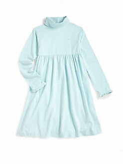Vineyard Vines - Girl's Turtleneck Dress/Clear Water