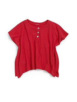 LAmade Kids - Toddler's & Little Girl's Ballet Henley Tee