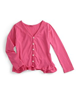 LAmade Kids - Toddler's & Little Girl's Ruffle Cardigan