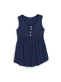 LAmade Kids - Little Girl's Lace Waist Cotton Top