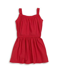 LAmade Kids - Toddler's Lace Trim Jersey Dress