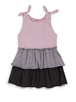 LAmade Kids - Toddler's Tiered Jersey Tank Dress