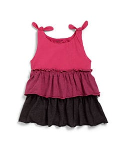 LAmade Kids - Infant's Colorblock Tiered Dress