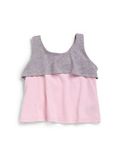 LAmade Kids - Infant's Tiered Tank Top