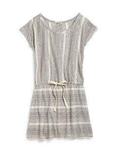 LAmade Kids - Girl's Two-Way Stripe Dress