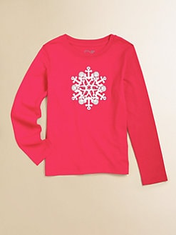 Vineyard Vines - Toddler's & Little Girl's Graphic Snowflake T-Shirt