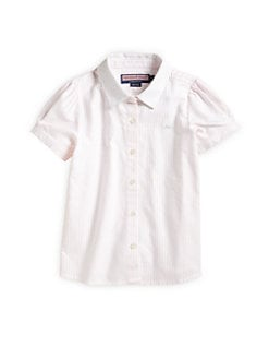 Vineyard Vines - Girl's Wendy Striped Shirt