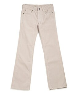 7 For All Mankind - Boy's Standard Straight-Leg Corduroy Jeans/Twill