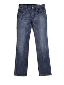 7 For All Mankind - Girl's Roxanne Classic Skinny Jeans