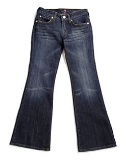 7 For All Mankind - Girl's A-Pocket Flare Jeans