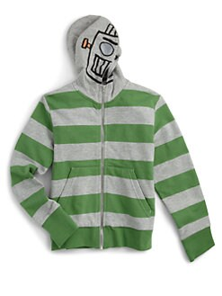 Stella McCartney Kids - Little Boy's Striped Graphic Hoodie